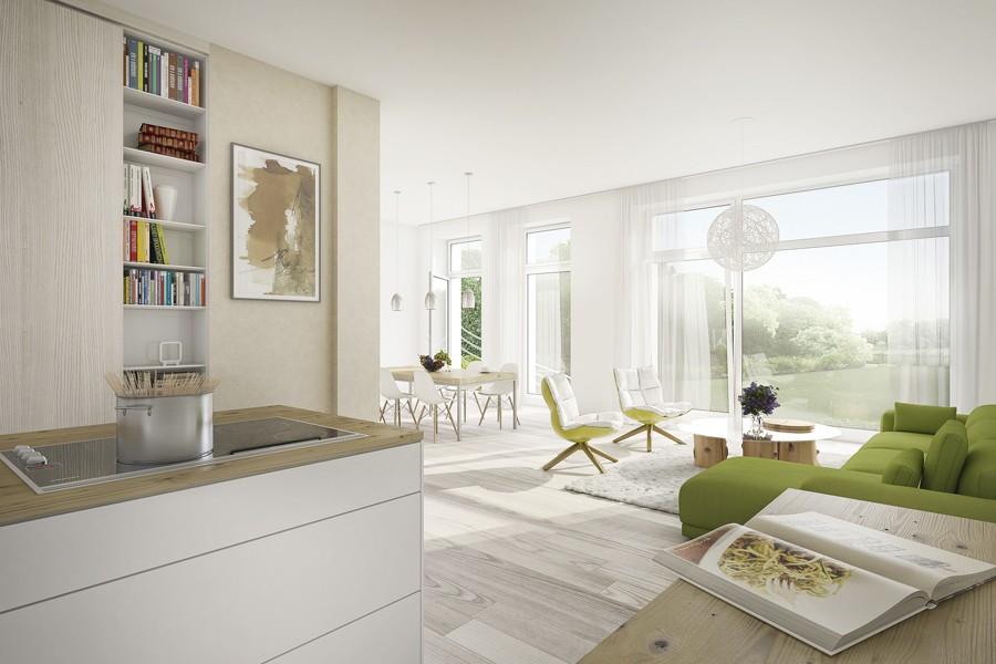 Fenster zwischen zwei räumen  Wohnungen - Eigentumswohnungen - Grosse Seestrasse 4 - Berlin ...